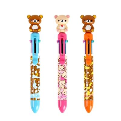 SAN-X拉拉熊0.7mm立體娃娃8色原子筆