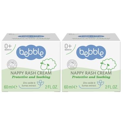 Bebble貝朵 黃櫨樹修護布疹霜60ml(2入組)