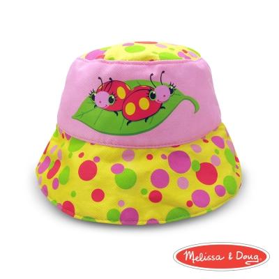 美國品牌 瑪莉莎 Melissa & Doug 卡通造型遮陽帽 - 瓢蟲姊妹: 莫莉與波莉