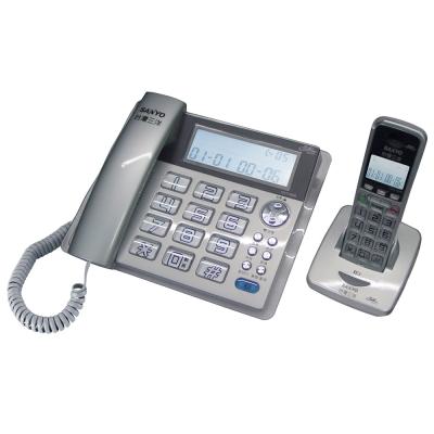 三洋 SANYO 超大字鍵 2.4G 數位子母機 DCT-8909