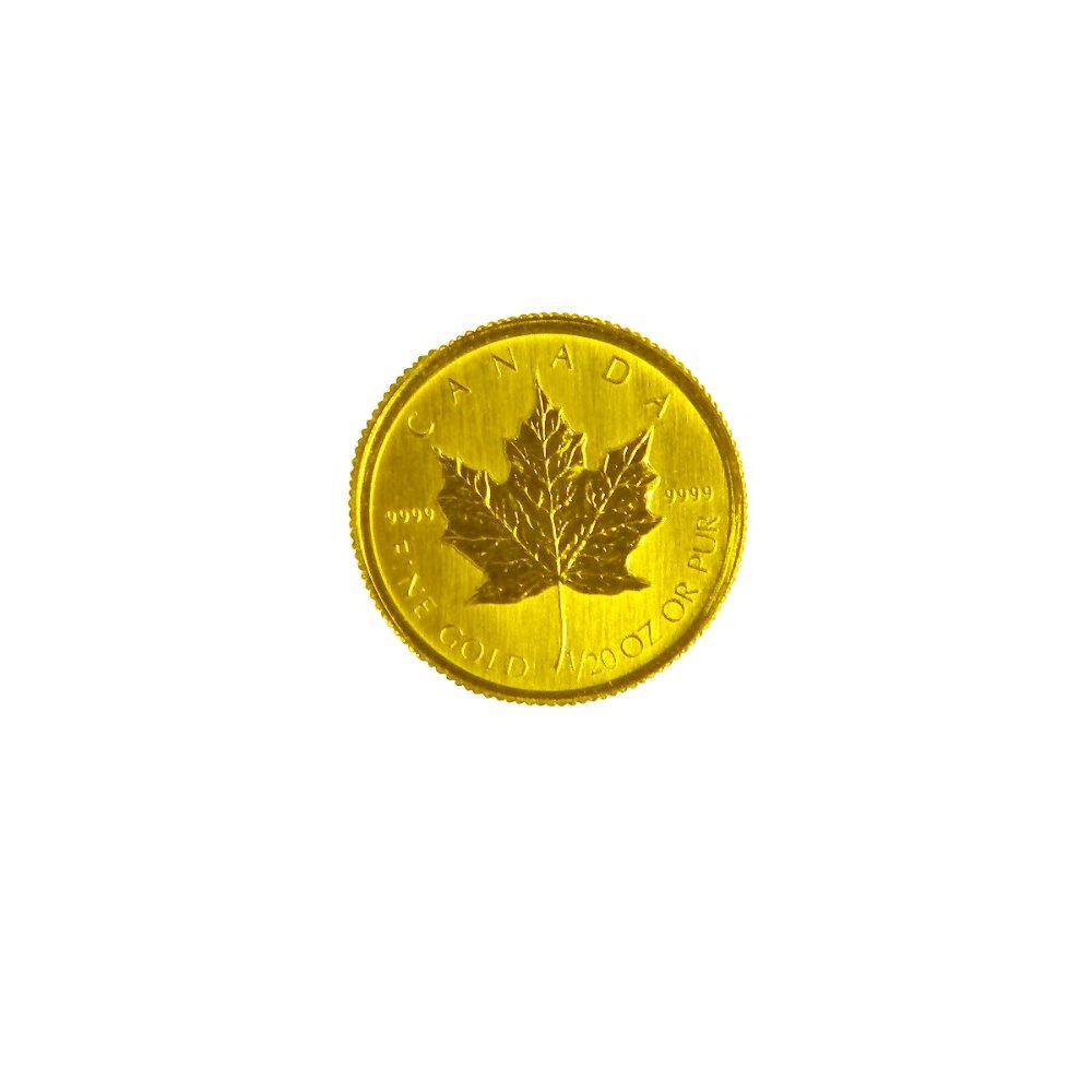 楓葉金幣-加拿大楓葉金幣(1/20盎司)