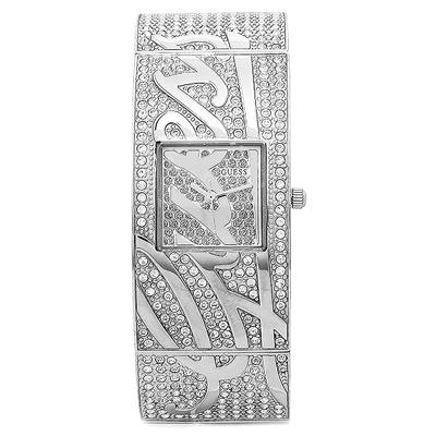 GUESS 閃耀巨星晶鑽時尚腕錶/26mm