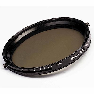 Miview CND可調式減光偏光多功濾鏡(58mm)