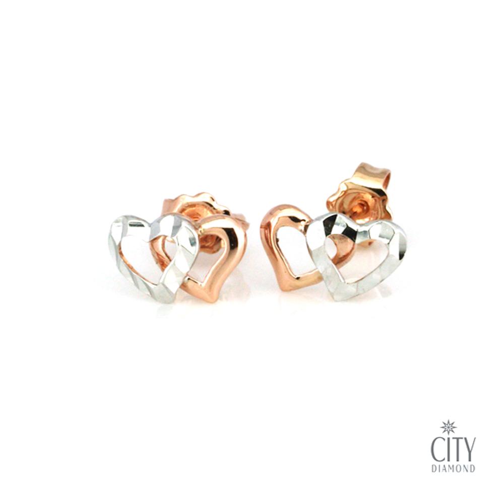 City Diamond『心情』K金耳環