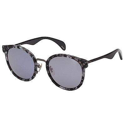 POLICE 水銀面太陽眼鏡 (花崗紋)SPL617