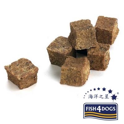 海洋之星Fish4Dogs營養潔齒點心、鮮魚餅乾13mm、100g、2入、適合小型犬食用