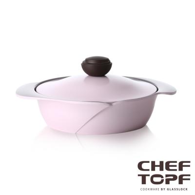 Chef Topf薔薇系列24公分不沾淺鍋/壽喜燒鍋