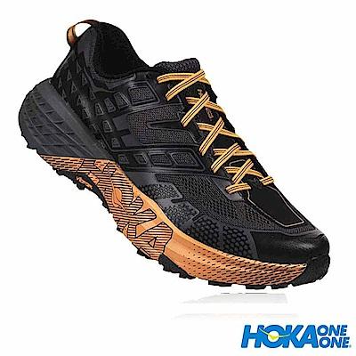 HOKA ONE ONE 男 越野跑鞋 男鞋 Speedgoat 2 黑桔