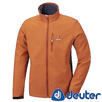 【ATUNAS 歐都納】德國DEUTER男款刷毛保暖外套DE-G1405M柑