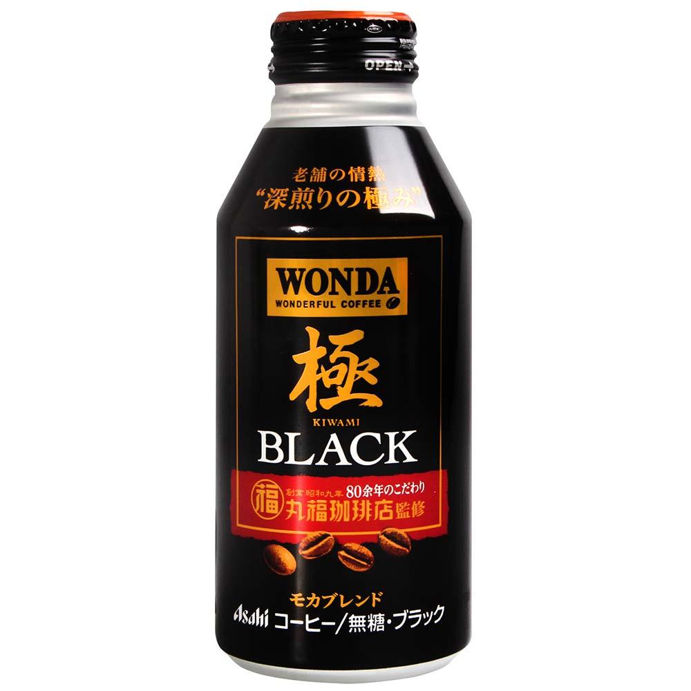 Asahi  WONDA極咖啡-Black(400g)