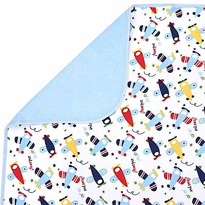 Baby unicorn 藍色飛機多功能防水隔尿墊野餐墊