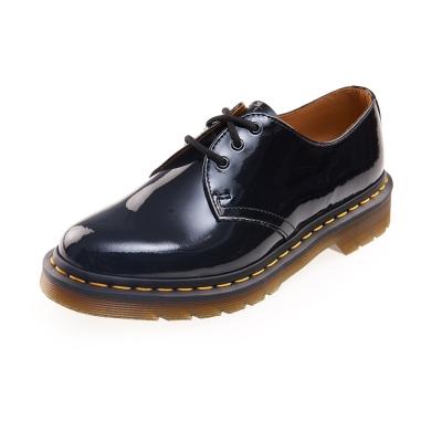 (女)Dr.Martens 1461 3孔漆皮牛津鞋*黑色