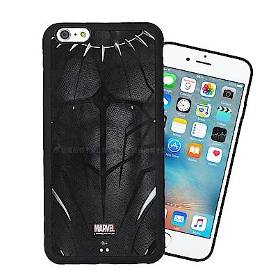 漫威授權 iPhone 6s Plus/6 Plus 黑豹電影版 防滑手機殼(帝...