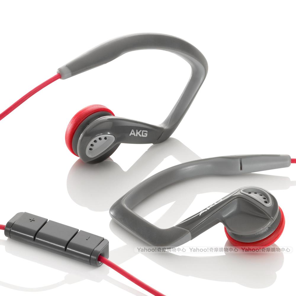 AKG K326 Sport Headset  紅色運動款 iPhone耳機