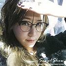 【Seoul Show】玩美沁甜 圓框平光眼鏡(6752黑色)