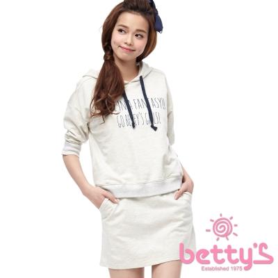 betty-s貝蒂思-文字設計純棉兩件式套組