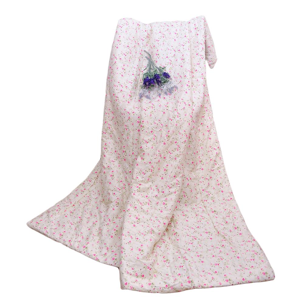 亞曼達Amanda 100%純棉涼被舖棉涼被 四季被 -曼舞花間