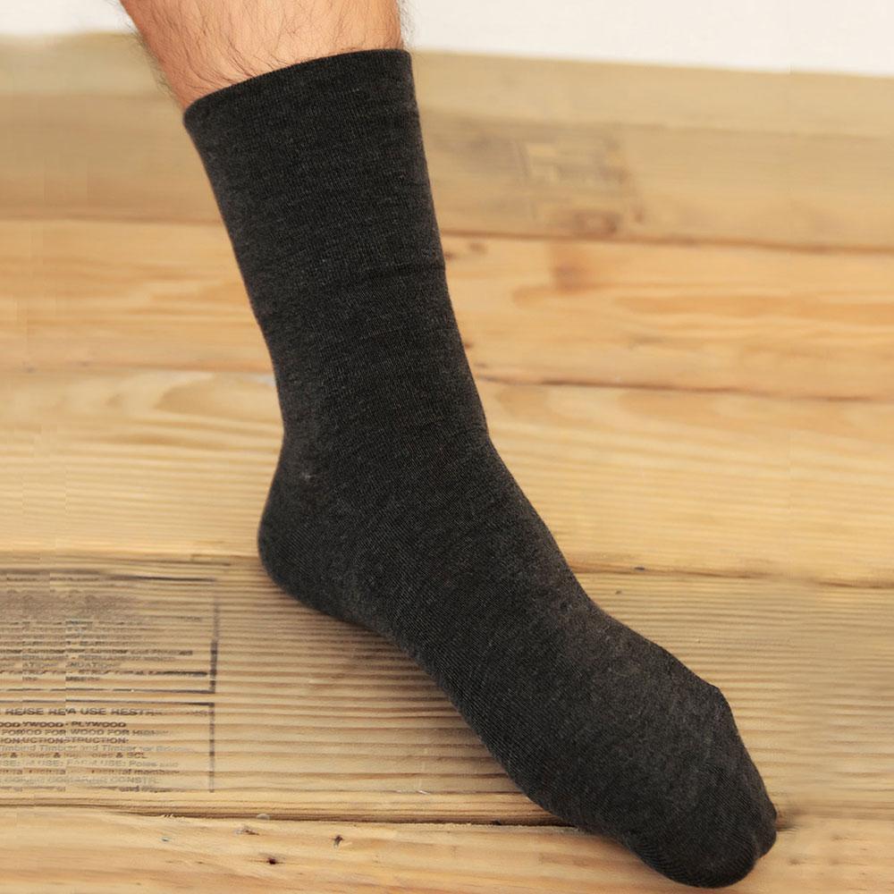 源之氣 竹炭無痕襪/男女共用 6雙組 RM-10036