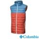 Columbia哥倫比亞 男款-化纖保暖背心-紅藍拼接 UWO08470RN