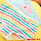WHY AND 1/2 女童普普熊條紋內褲2件組 2Y~14Y