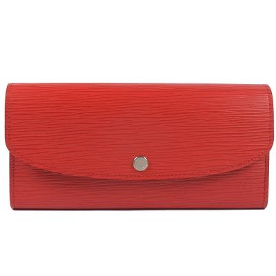 LV M60852 Emilie EPI雙色簡易式長夾(紅)