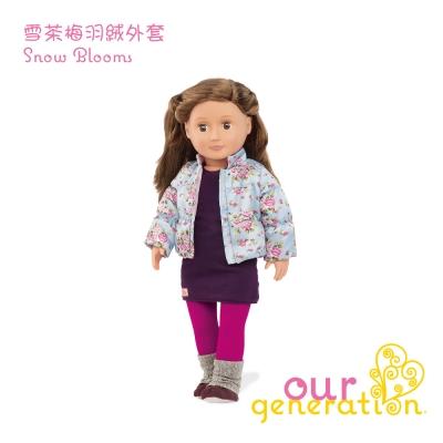 美國【our generation】雪茶梅羽絨外套 (3Y+)