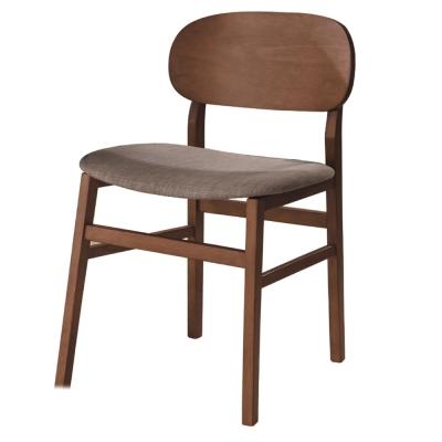 品家居 優美工業風餐椅-49x48x81cm-免組