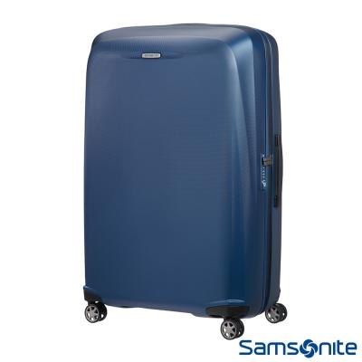 Samsonite新秀麗 28吋Starfire飛機輪TSA防刮耐磨PC行李箱(藍)