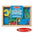 美國瑪莉莎 Melissa & Doug 大小寫英文字母木質磁鐵貼