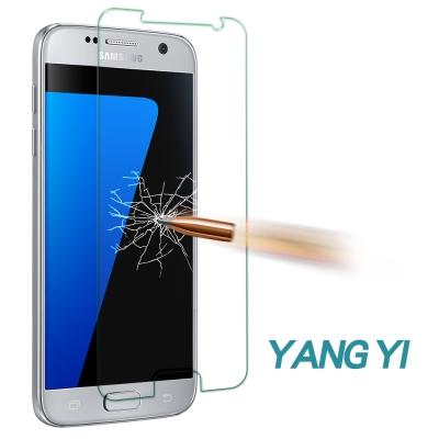 YANG YI 揚邑 Samsung S7 防爆防刮防眩 9H鋼化玻璃保護貼膜