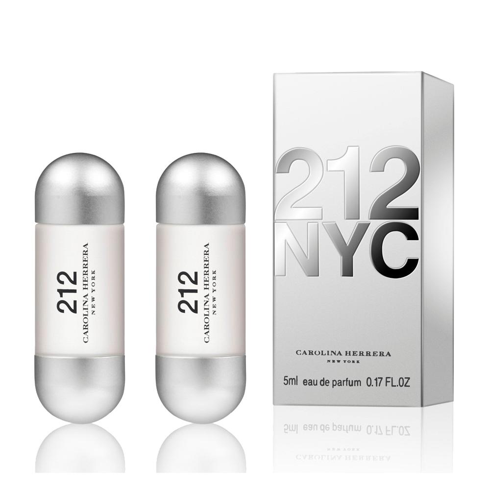 Carolina Herrera 212都會女性香水 小香5ml (2入)