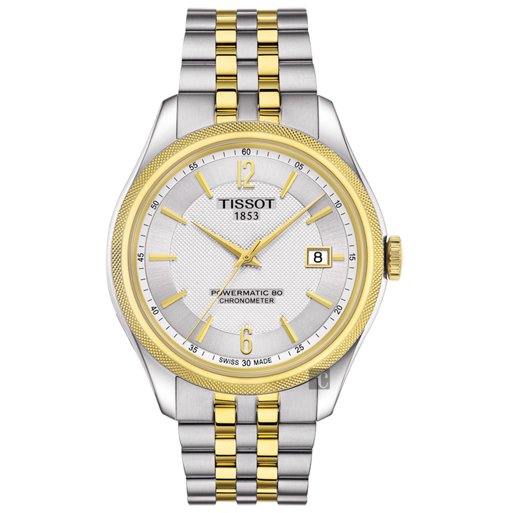 TISSOT天梭 Ballade COSC 80小時矽游絲機械腕錶 T1084082203700