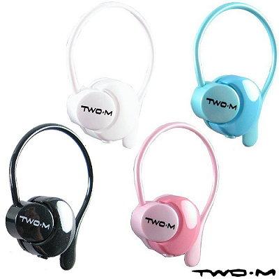 TWO.M 可調音耳掛式耳機麥克風 EP44 超值4入組
