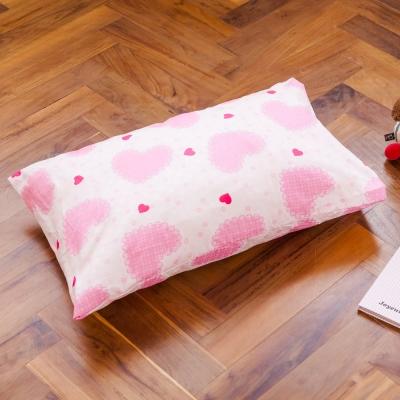 鴻宇HongYew 美國棉防蹣抗菌 夢幻公主-兒童透氣多孔纖維枕
