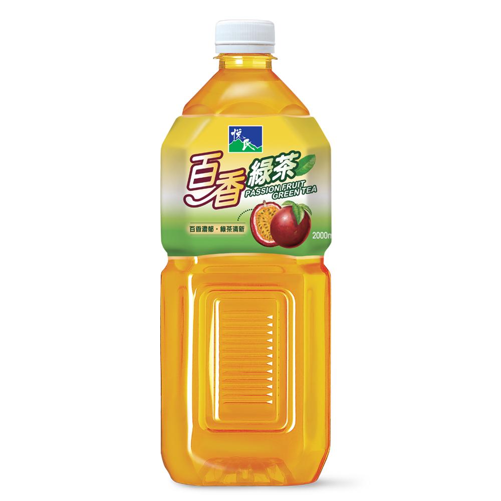 悅氏百香綠茶2L