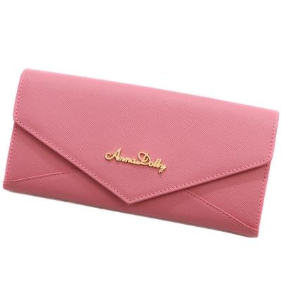 ANNA-DOLLY-真皮信封長夾-Leather