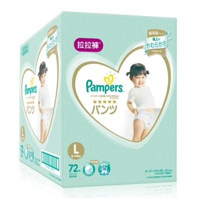 幫寶適 一級幫 拉拉褲/褲型尿布 (L) 72片_日本原裝/箱