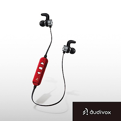 audivox 運動藍牙耳機 隨身聽-紅