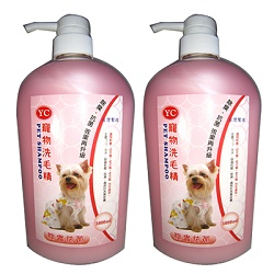 YC 寵物洗毛精1000ml 2瓶 驅蟲抗菌-成、幼、犬、貓適用