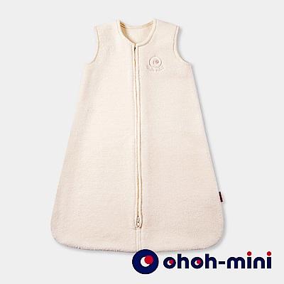 【ohoh-mini 孕婦裝】保暖刷毛寶寶防踢睡袍