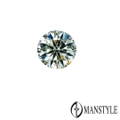 GIA-MANSTYLE 0.46ct D-VVS2 八心八箭裸鑽