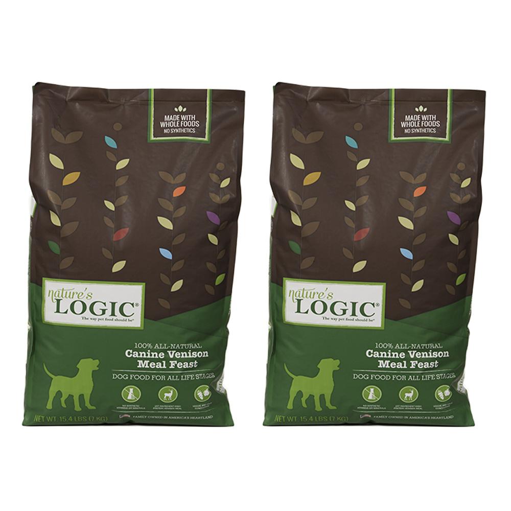 Natures Logic自然邏輯低敏天然糧全犬鹿肉配方4.4磅X 2包入