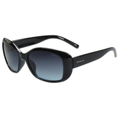 Polaroid 寶麗萊-偏光太陽眼鏡(黑/琥珀 2 色)
