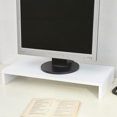 澄境 MIT低甲醛單層電腦螢幕架/桌上架/置物架(同色4入組)-DIY