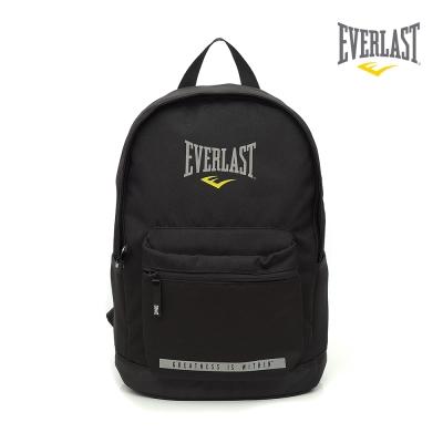 EVERLAST 拳擊運動品牌-休閒電腦後背包-黑