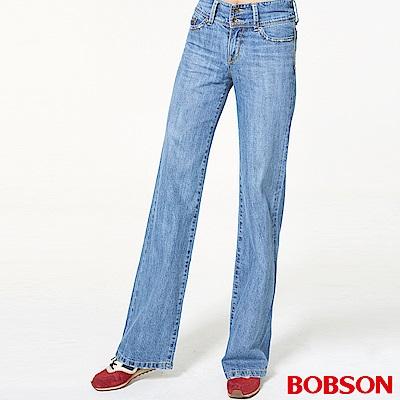 BOBSON 女款高腰大喇叭褲