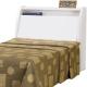 日式量販 日系純白3.5尺單人床頭箱