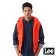 Lee HEAT連帽舖棉背心-男款-橘 product thumbnail 1
