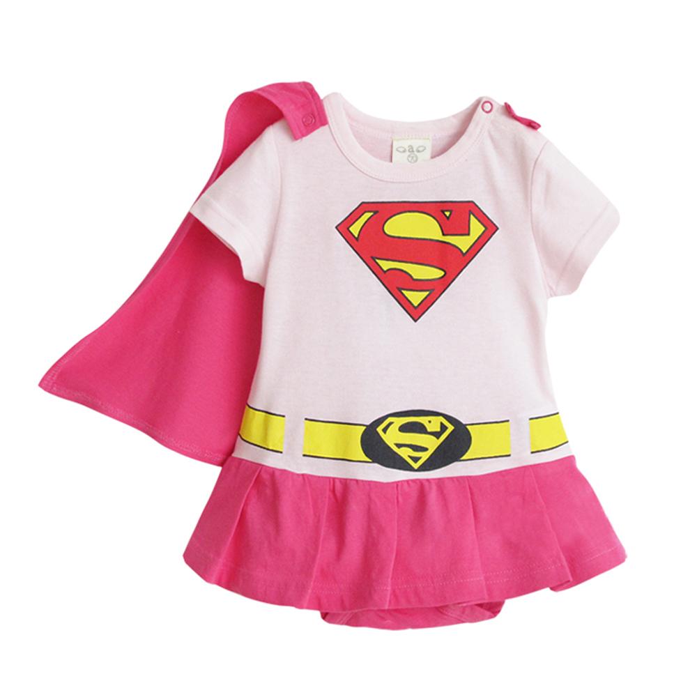 baby童衣 寶寶包屁衣 造型哈衣 女超人套裝 32001