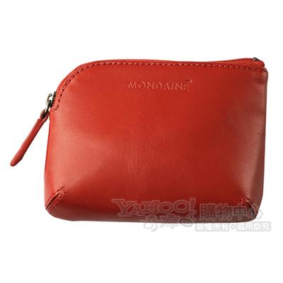 Mondaine 瑞士國鐵鑰匙零錢包-紅